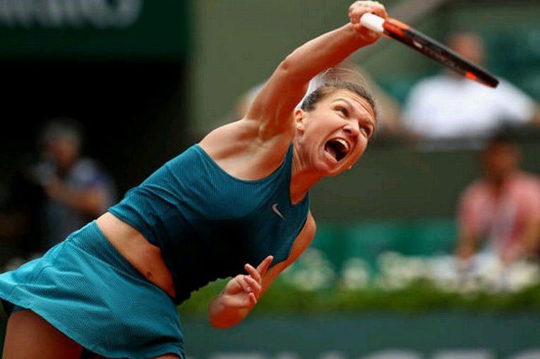 Simona Halep, in primul tur la Roland Garros 2018