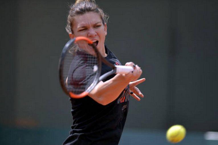 Simona Halep se antreneaza de o saptamana la Roland Garros 2018