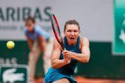 Simona halep in acțiune la Roland Garros 2018