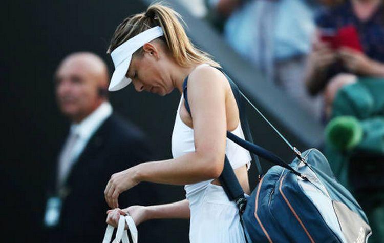 Maria Sharapova a pierdut în primul tur la Wimbledon 2018
