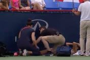 Mihaela Buzarnescu in lacrimi dupa accidentarea de la Montreal