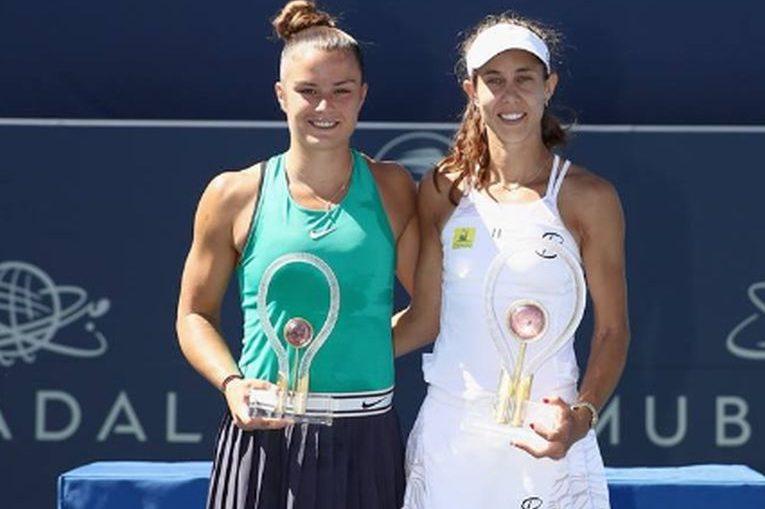 Mihaela Buzarnescu la festivitatea de premiere a turneului WTA de la San Jose 2018