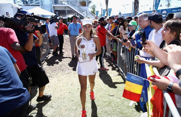 Mihaela Buzarnescu si cel mai important trofeu al carierei, cel cucerit la San Jose 2018