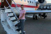 Simona Halep avion privat cincinnati