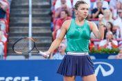 Simona Halep, după calificarea in semifinalele de la Rogers Cup