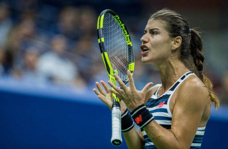 Sorana Cirstea, supărată la US Open 2018