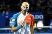 Marius Copil si bucuria de dupa calificarea in finala turneului de la Basel