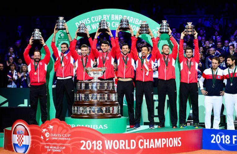 Croatia a castigat pentru a doua oara trofeul in Cupa Davis