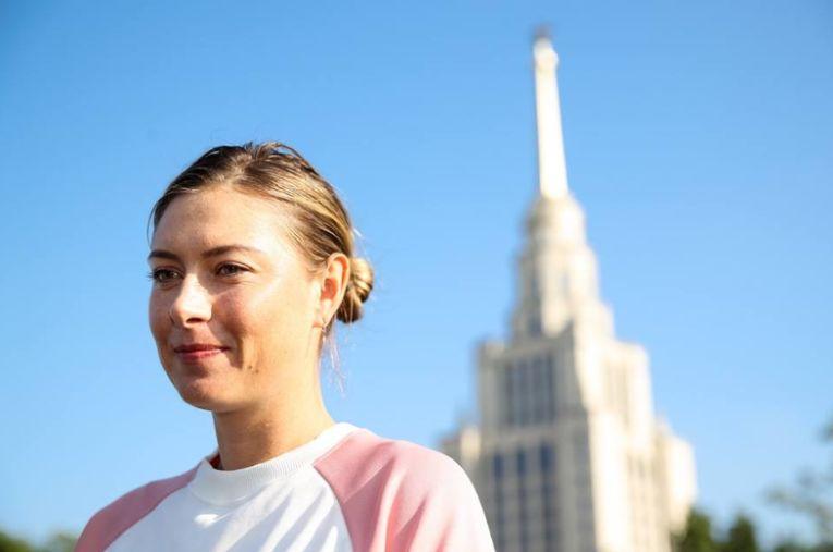 Maria Sharapova la Shenzhen 2019