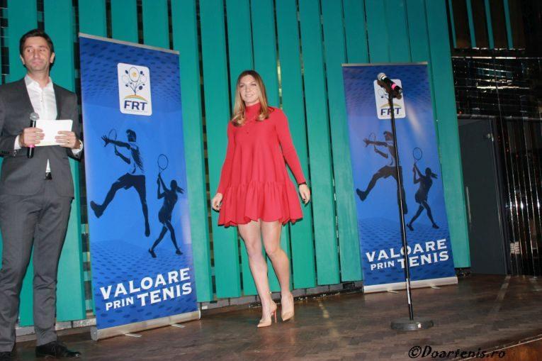 Simona Halep, la premiile Galei Tenisului Romanesc 2018