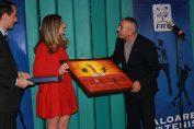 Simona Halep a primit un tablou la Gala Tenisului Românesc 2018