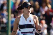 Bianca Andreescu și bucuria unui punct reușit