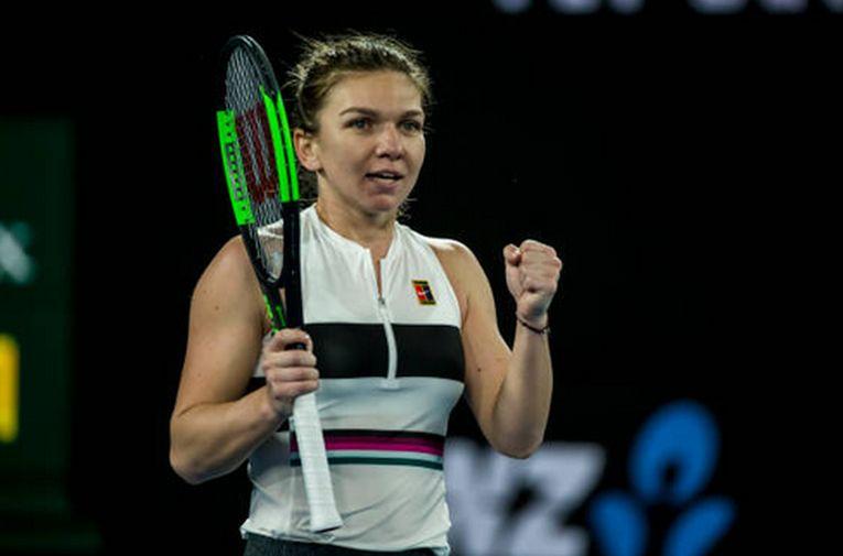 Simona Halep si bucuria victoriei Australian Open 2019
