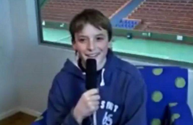 Stefanos Tsitsipas, la vârsta de 13 ani