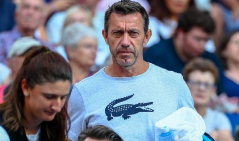 Antrenorul belgian de tenis Thierry van Cleemput