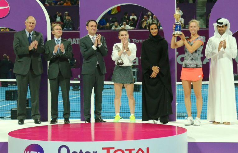 simona halep, finalista la Doha 2019
