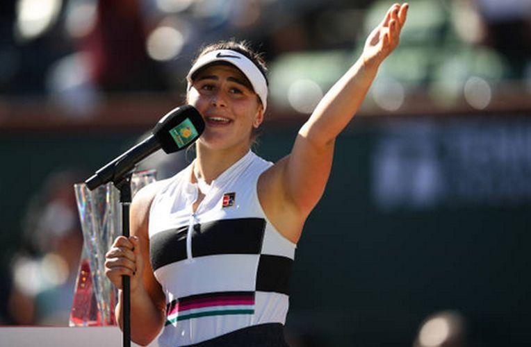 Bianca Andreescu le-a mulțumit fanilor români pentru susținere