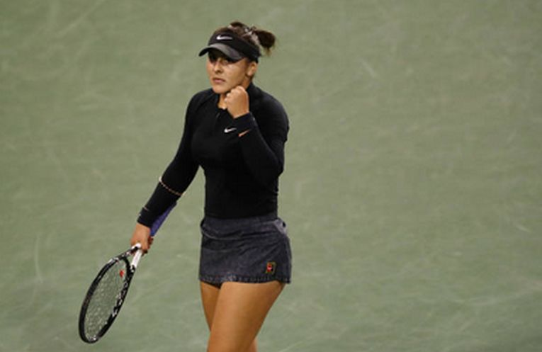 Bianca Andreescu la Indian Wells