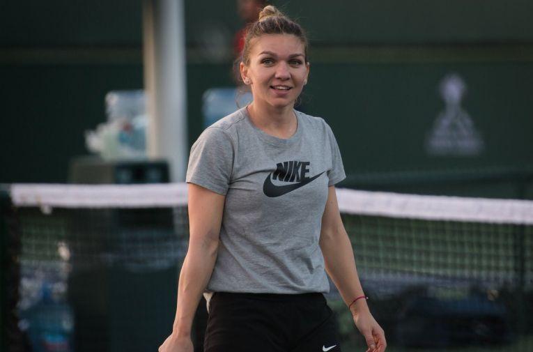 Simona Halep, la Indian Wells 2019