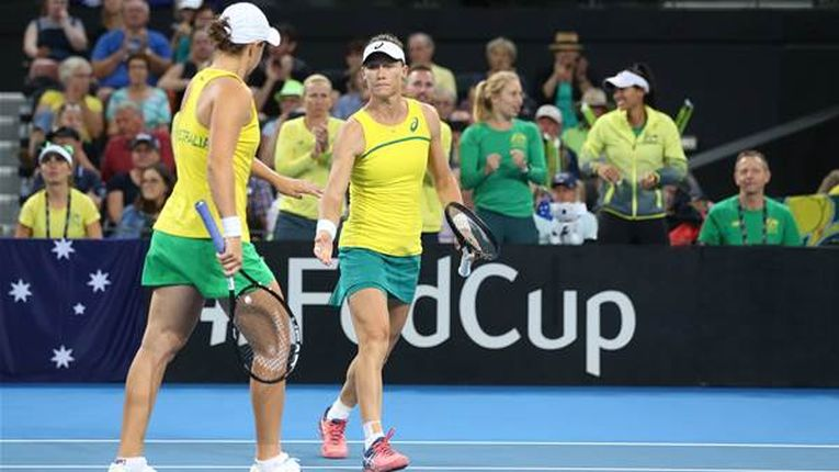 Australia s-a calificat in finala Fed Cup