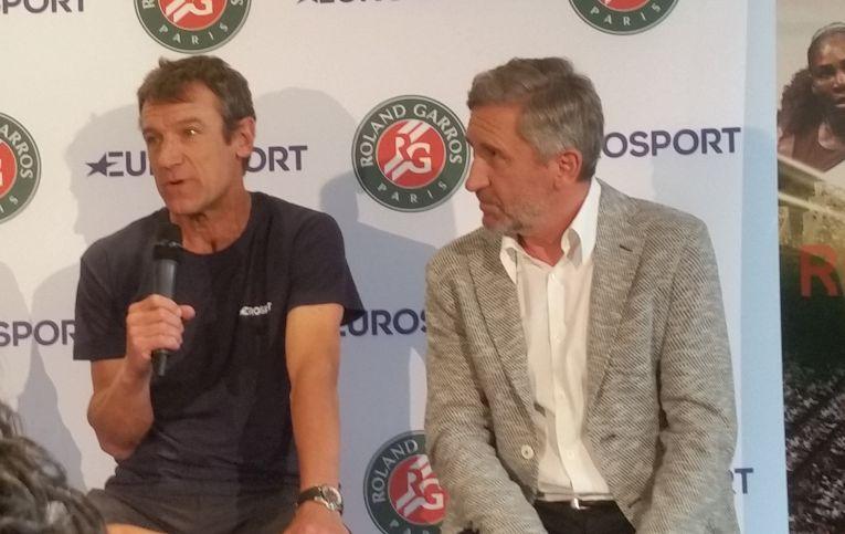 Mats Wilander a venit la Bucuresti la invitatia Eurosport