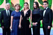 Simona Halep, alături de familie, la Balul Campionilor de la Wimbledon