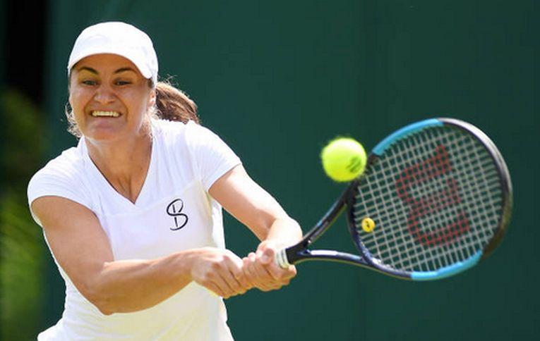Monica Niculescu, la Wimbledon 2019