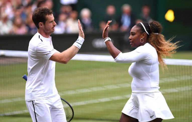 Serena Williams și Andy Murray, la primul meci de la Wimbledon 2019