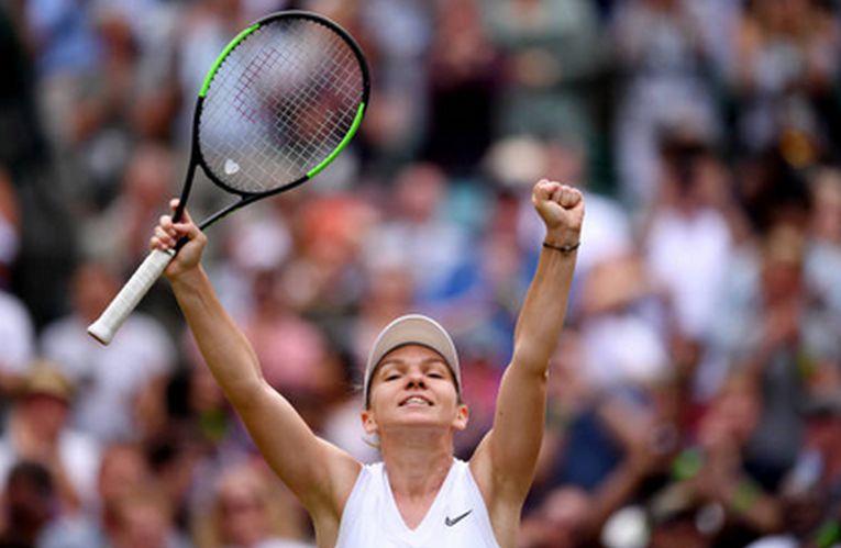 Simona Halep la Wimbledon 2019