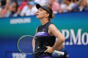 Simona Halep, supărată la US Open 2019