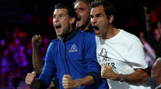 Federer și Zverev sunt foarte apropiați