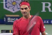 Roger Federer la Shanghai