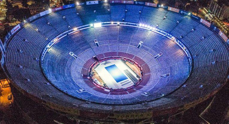 Arena Plaza de Toros din Mexico City e gata de meciul Federer - Zverev