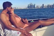 Dominic Thiem și Kristina Mladenovic, la plajă