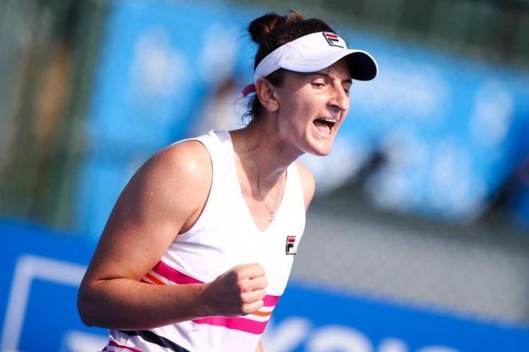Irina Begu, bucuroasă după calificarea pe tabloul principal al turneului WTA Shenzhen Open 2020