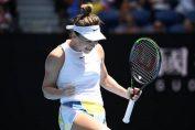 Bucuria calificării Simonei Halep în sferturile de finală ale Australian Open 2020