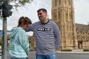 Simona Halep și iubitul ei, Toni Iuruc, se distrează în piata victoriei de la Adelaide