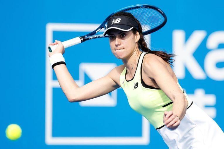 Sorana Cîrstea, în acțiune la Shenzen Open 2020