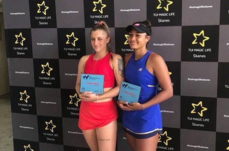 Andreea Prisăcariu a cucerit titlul la turneul ITF de la Monastir