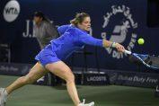 Kim Clijsters a jucat primul meci după 8 ani. Totul s-a intamplat la Dubai