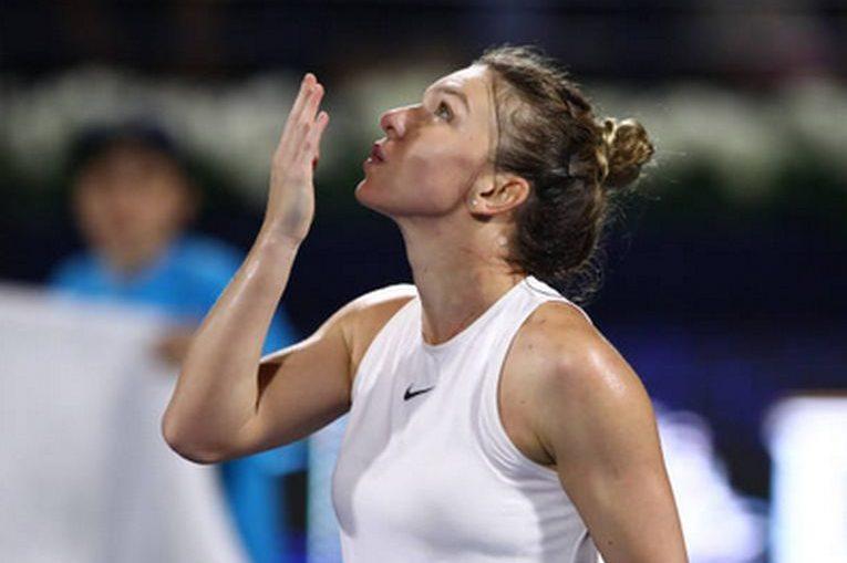 Simona Halep, victorioasă la Dubai 2020