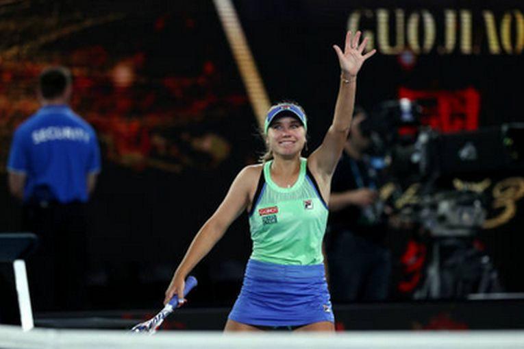 Sofia Kenin, după mingea care i-a adus primul titlu de Grand Slam din carieră, la Australian Open 2020