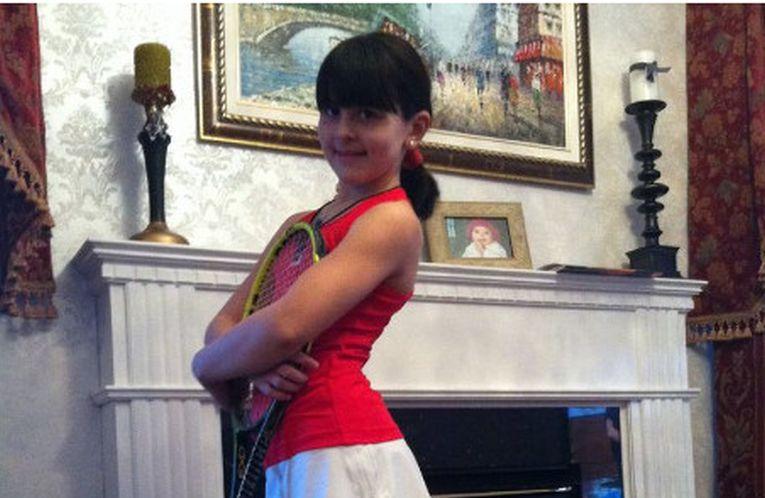Bianca Andreescu în copilărie, când via să devină tenismenă profesionistă