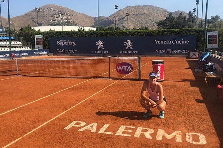 Irina Begu a făcut primele antrenamente la Palermo