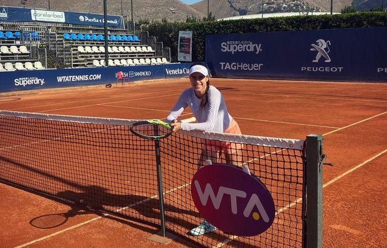 Sorana Cîrstea a făcut primul antrenament la Palermo
