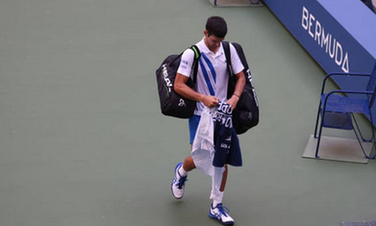 Novak Djokovic a fost dat afară de la US Open 2020