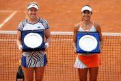 Raluca Olaru și Ana-Lena Friedsam, după finala de la Roma
