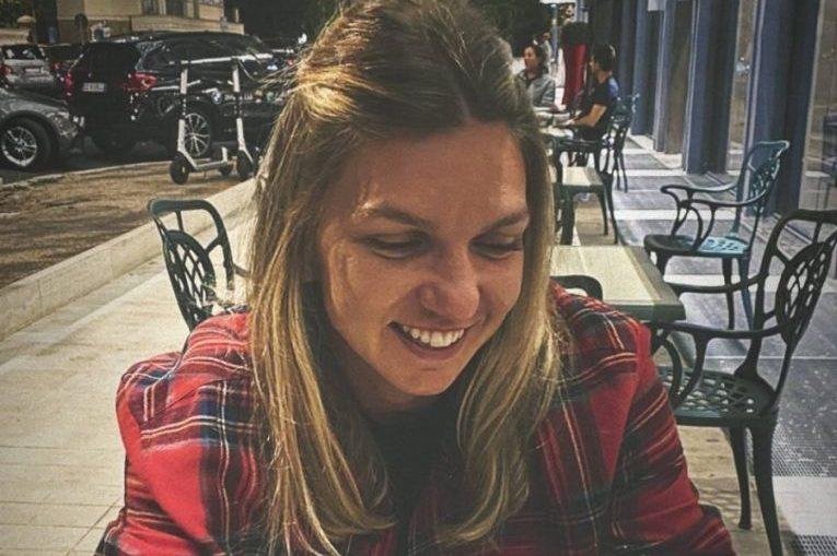 Simona Halep la Roma rade