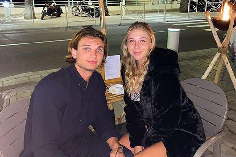 Amanda Anisimova și iubitul ei, Tyleer Ross