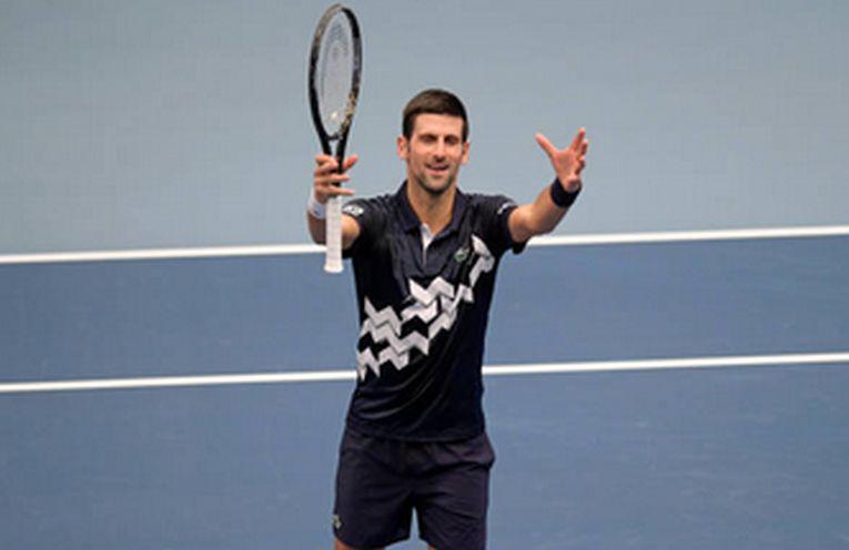 Novak Djokovic la Viena